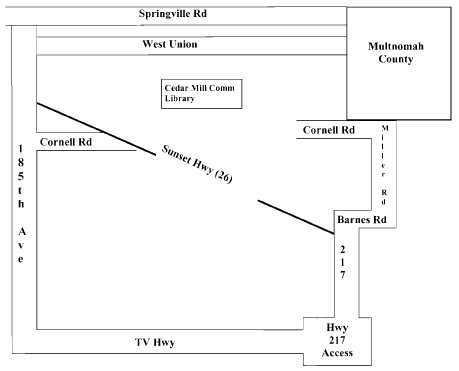 Bookshare boundary map