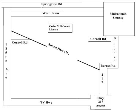 Bookshare boundary map