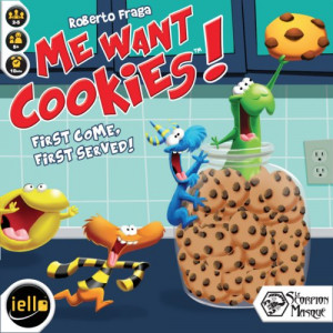 Me Want Cookies board game