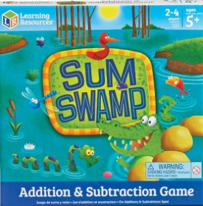 Sum Swamp board game cover