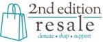 Second Edition Resale Shop logo 2015