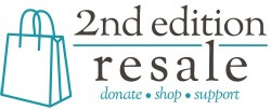 Second Edition Resale Shop logo 2015