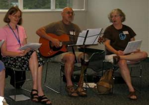 Song Circle participants