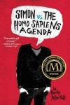 book cover for Simon vs. the homo sapiens agenda