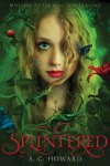 Book cover of girl with blonde hair and a green aura around her