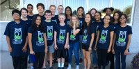 Group picture of the Teen Library council