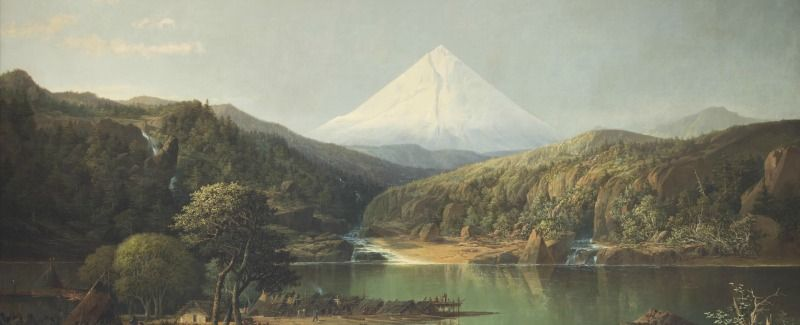 Mount Hood from The Dalles by John Mix Stanley