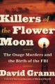 Killers of the Flower Moon book cover image