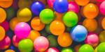 multi colored plastic balls