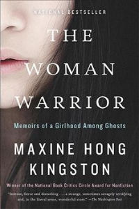 lower half of a woman's face on a book cover