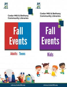 Fall 2019 Events Brochures