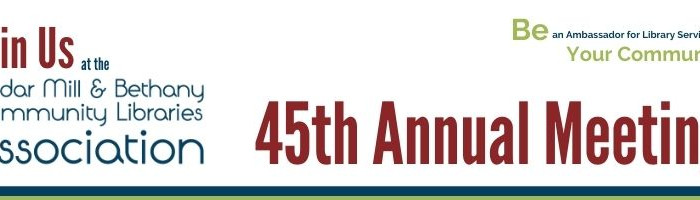 45th Annual CMBCLA Meeting