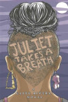 book cover of the back of a girl's partially shaved head