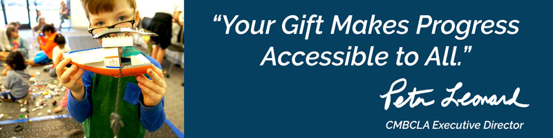 Your gift makes progress accessible to all.