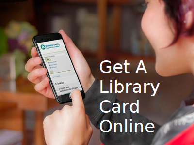 get a library card online