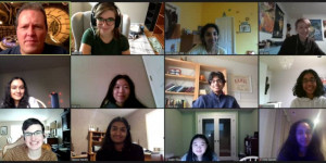 Group photo of Teen Library Council members