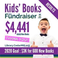 2020 Kids' Books Fundraiser Results