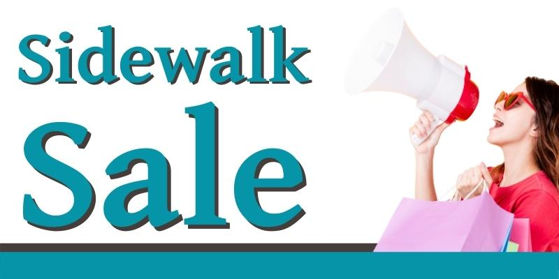 Second Edition Resale Sidewalk Sale