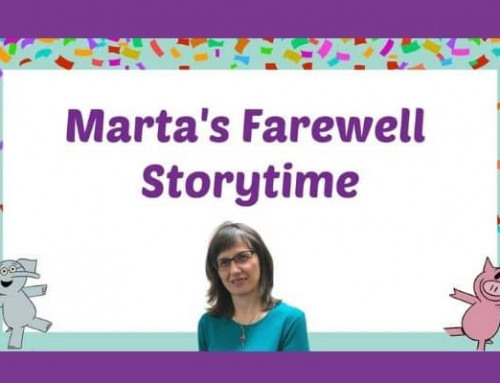 Farewell Storytime with Marta